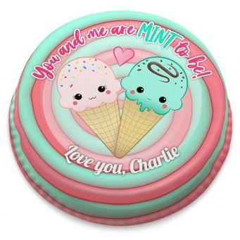 Ice Cream Love Cake