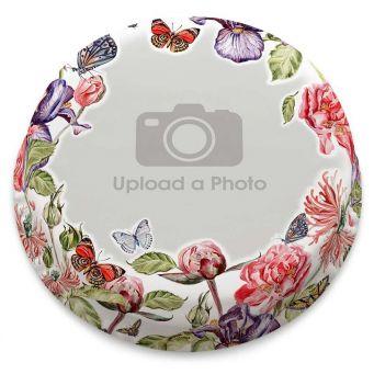 Flower Garden Photo Cake