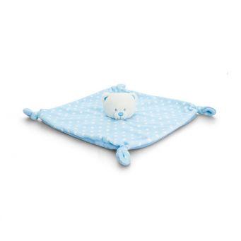 Blue Baby Bear Blanket
