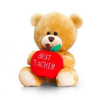 Best Teacher Apple Teddy