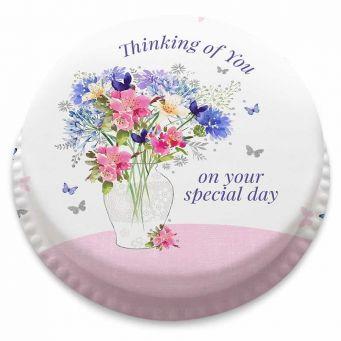 Pastel Floral Cake