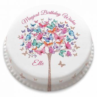 Butterfly Tree Cake
