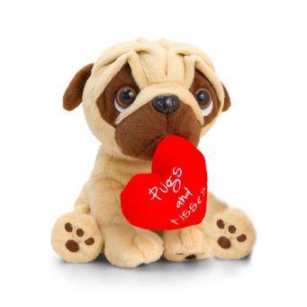 Pugs & Kisses Teddy  - V