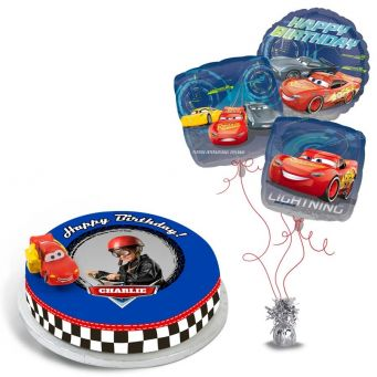 Lightning McQueen Cars Gift Set