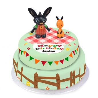 Bing Bunny Tiered Cake