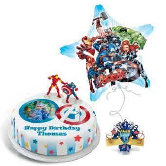 Avengers Photo Gift Set
