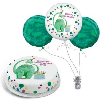 Birthday Dino Gift Set