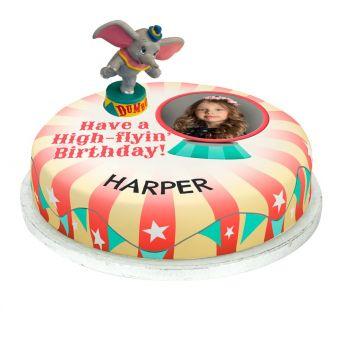 Dumbo Photo Cake