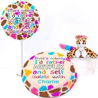 Giraffe Hug Gift Set