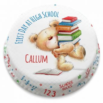 Book Worm Ted Cake