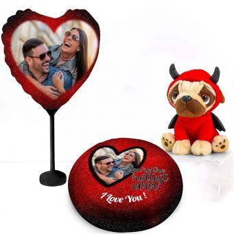 Devil Pug Gift Set