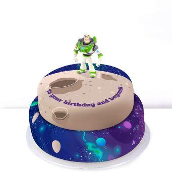 Buzz Lightyear Tiered Cake