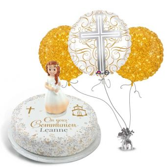 Gold Communion Gift Set