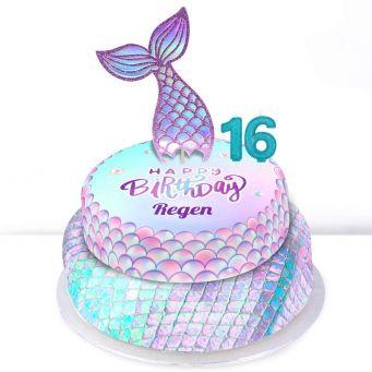 16th Birthday Mermaid Cake