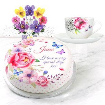 Pink Polka Gift Set