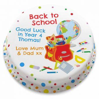 School Bag Cake