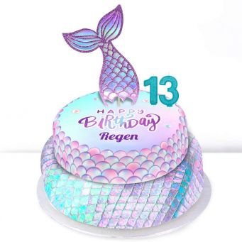 13th Birthday Mermaid Cake