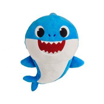 Blue Daddy Shark Teddy