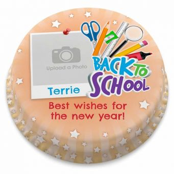Back to School Photo Cake