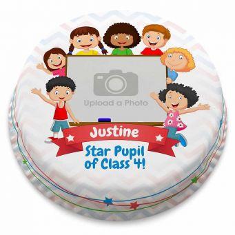 Pupil Photo Cake