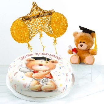 Graduation Ted Gift Set