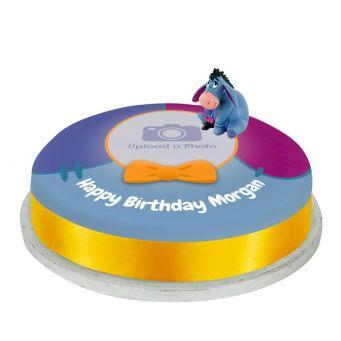 Eeyore Photo Cake