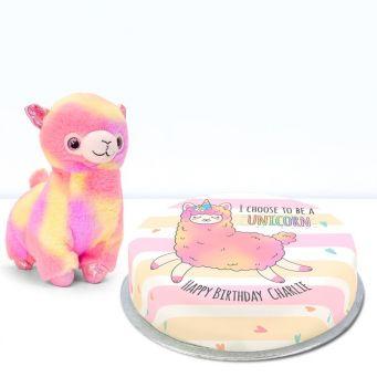 Unicorn Llama Gift Set