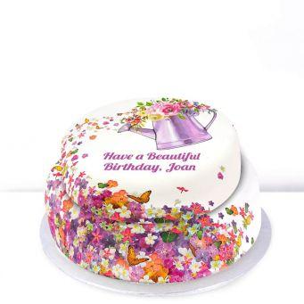 Gardening Birthday Cake