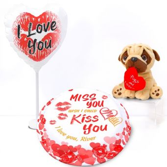 Pugs And Kisses Gift Set