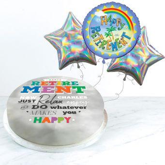 Rainbow Retirement Gift Set