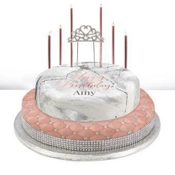 Tiered Tiara Cake