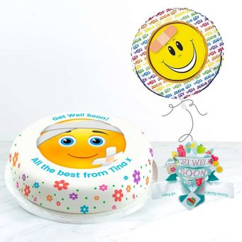 Get Well Emoji Gift Set