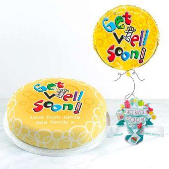 Get Well Soon Balloon Gift Set