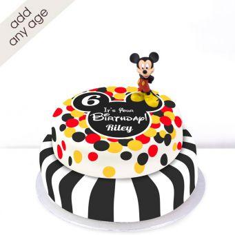 Any Age Disney Mickey Mouse Cake