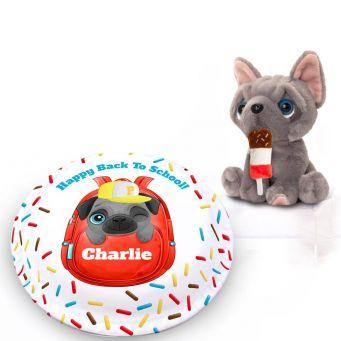 School Pug Gift Set