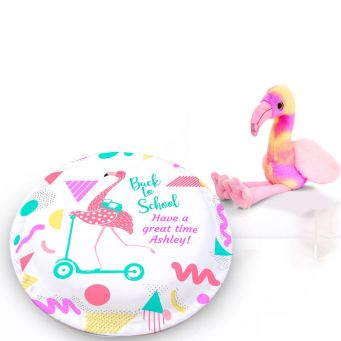 Flamingo Scooter Gift Set
