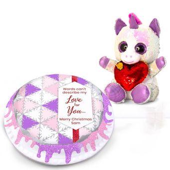 Christmas Unicorn Love Gift Set