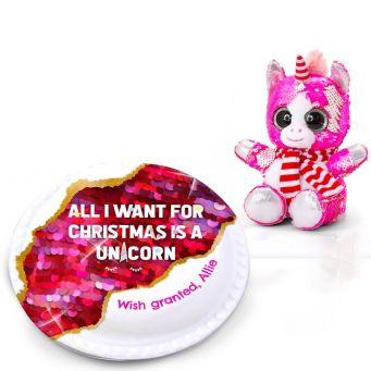 Christmas Devil Pug Gift Set