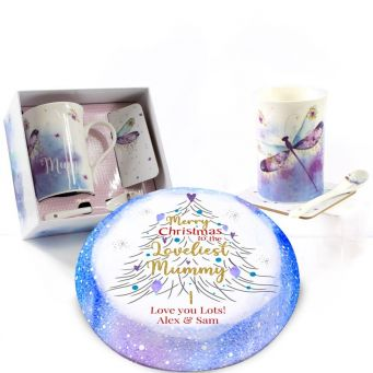 Christmas Dragonfly Gift Set