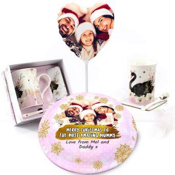 Christmas Swan Gift Set