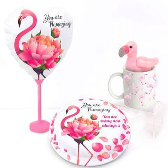 Flamingo Loves You Gift Set