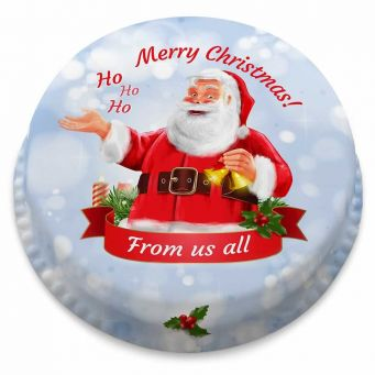 Santa Claus Wishes Cake