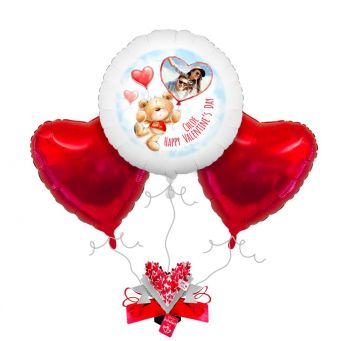 Ted Photo Balloon Bouquet