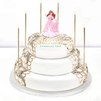 Disney Ariel Cake