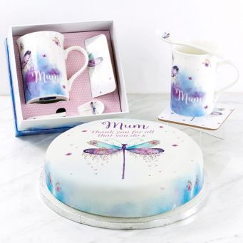 Dragonfly Cup Gift Set