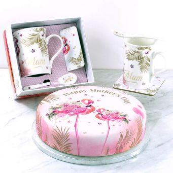 Flamingo Cup Gift Set