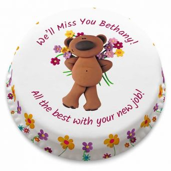 Flower Teddy Cake