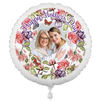 Flower Photo Balloon