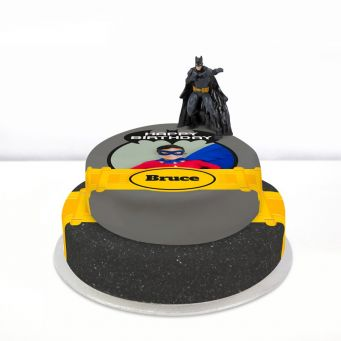 Batman Photo Cake