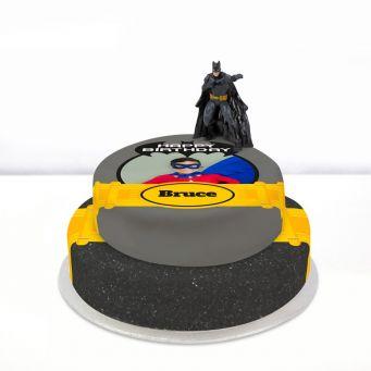 Batman Photo Cake